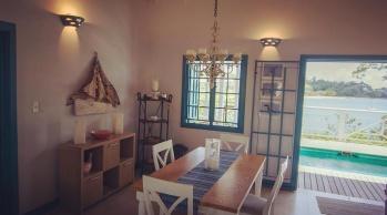 Licorish Tobago beach villa - photo gallery Dining area
