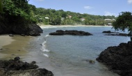 Private Beach Access fron Licorish Tobago Villa Fort Bennet