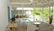 villas in Tobago - Licorish Villa Deck