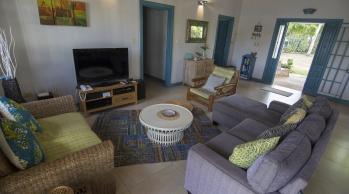 Living Room of Licorish Villa in Tobago