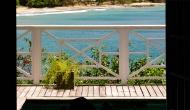Deck View of Licorish Villa Tobago