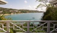 Deck View of Licorish Tobago Villa