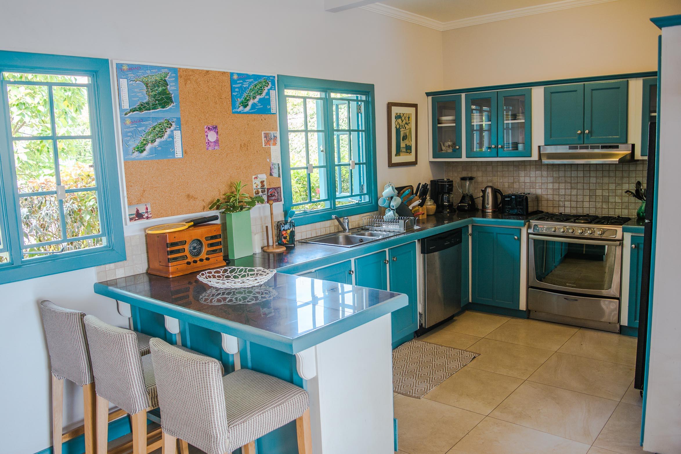 Licorish Black Rock Villa Kitchen