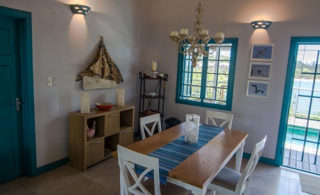 Licorish Tobago Holiday Villa Dining Area