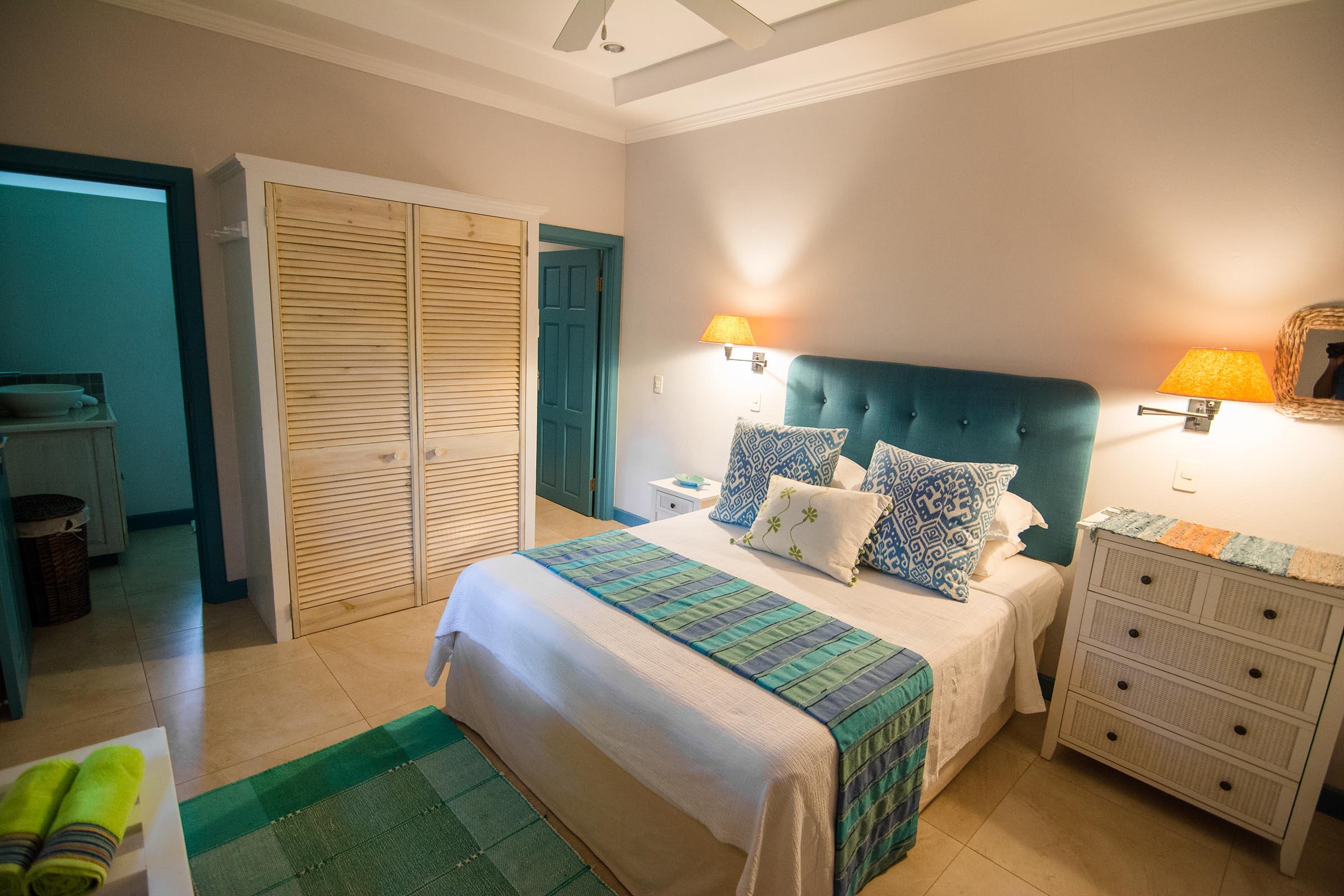 Bedrooms At Licorish Black Rock Villa In Tobago