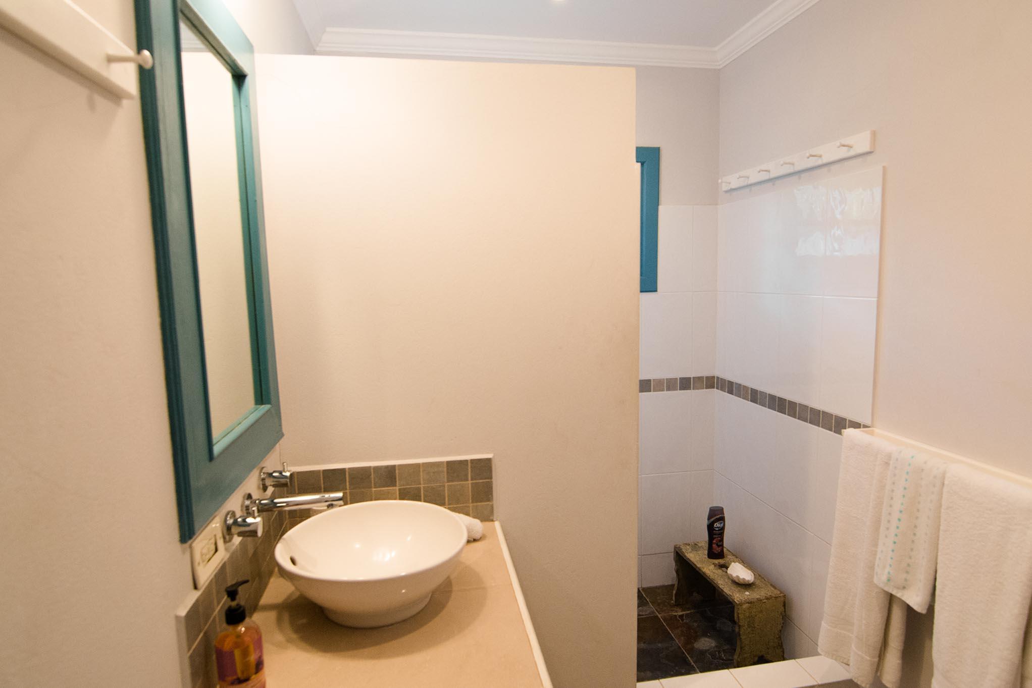 Licorish Tobago Black Rock Villa Bathroom