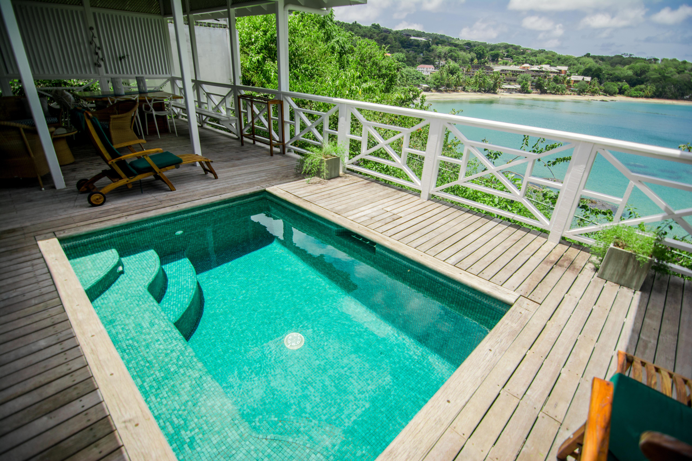Villas in Tobago with pool