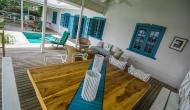 Licorish Villa Deck Area - Black Rock Tobago