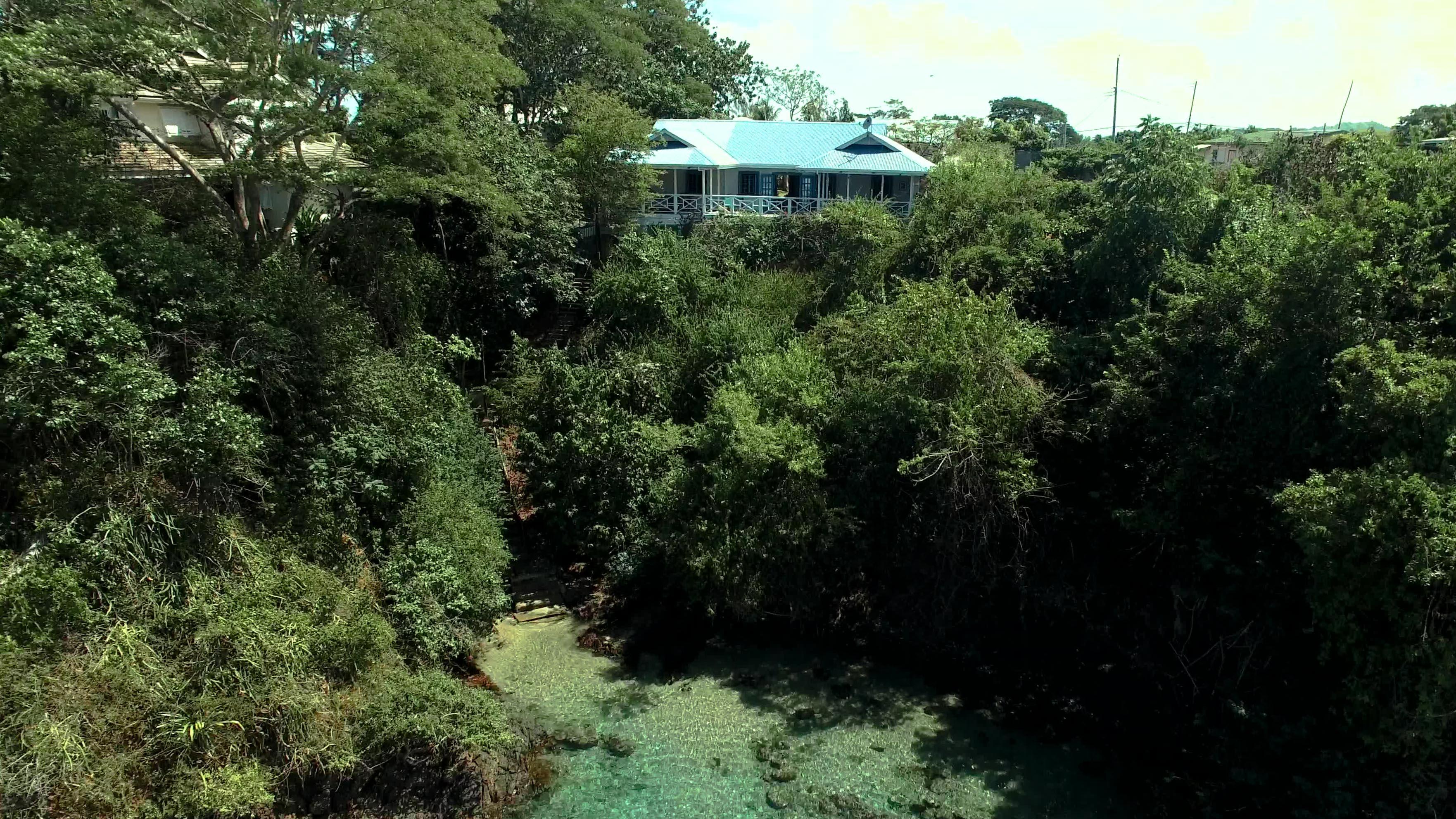 Private Beach Access Licorish Villa Tobago
