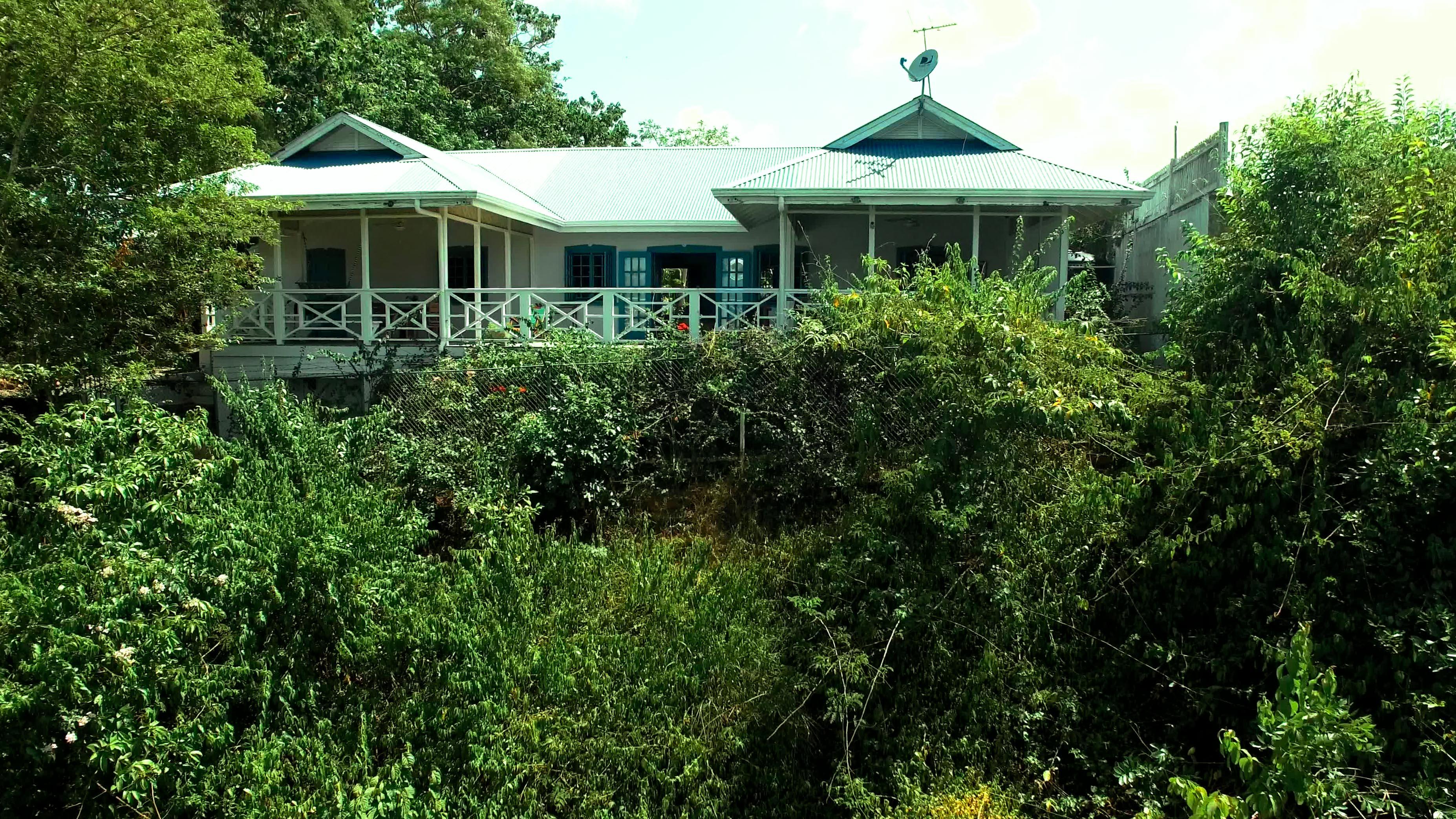 Outdoor View of Licorish Villa in Black rock Tobago
